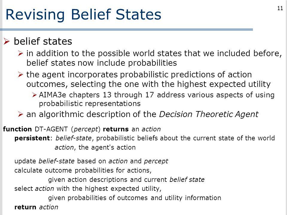Revising Belief States