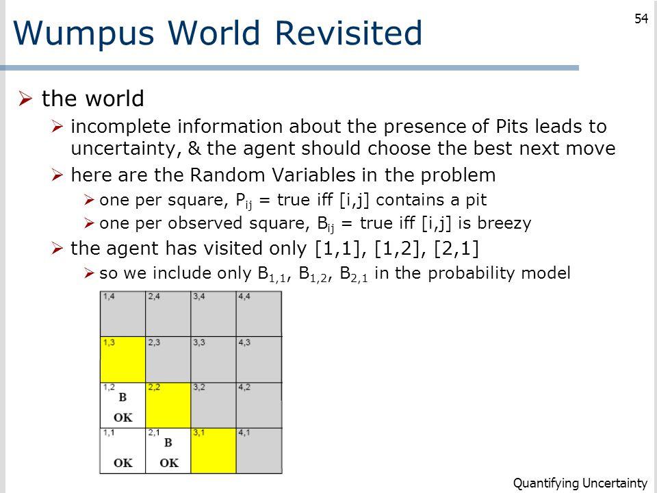 Wumpus World Revisited
