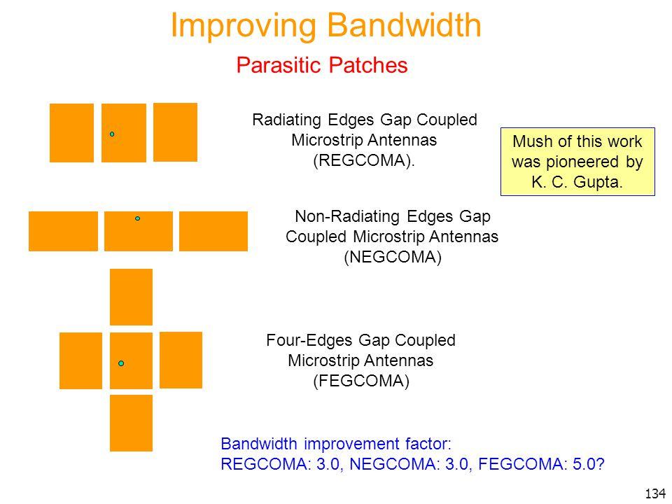 Improving Bandwidth Parasitic Patches