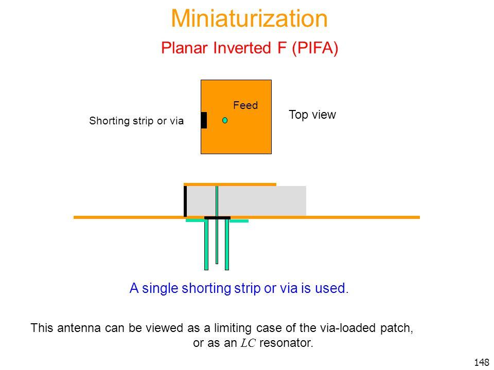 Planar Inverted F (PIFA)