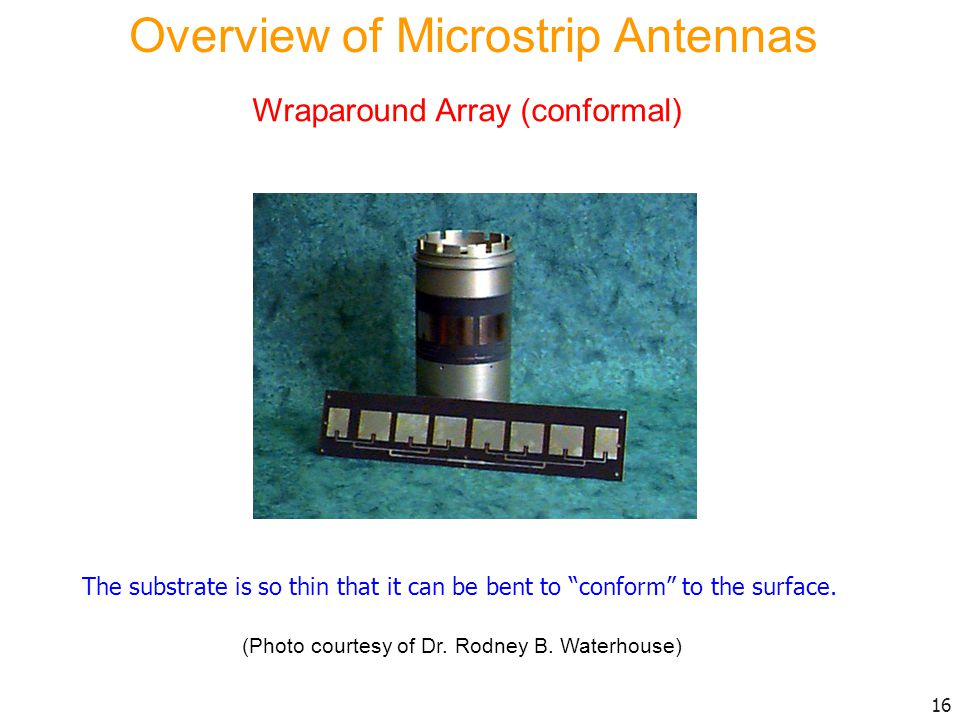 Overview of Microstrip Antennas