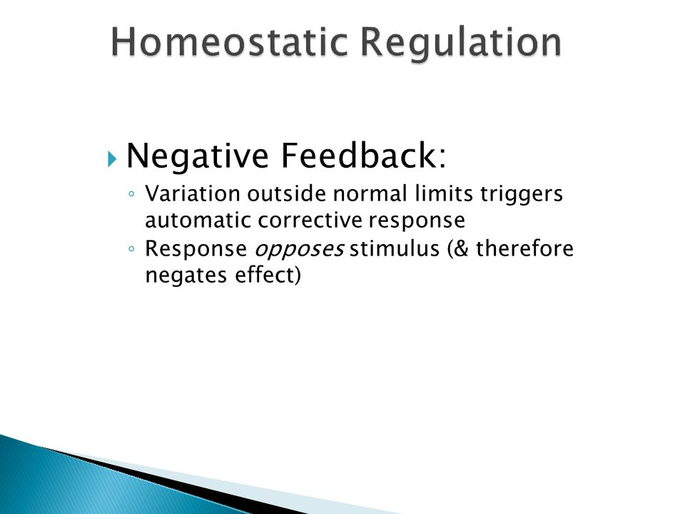 Homeostatic Regulation