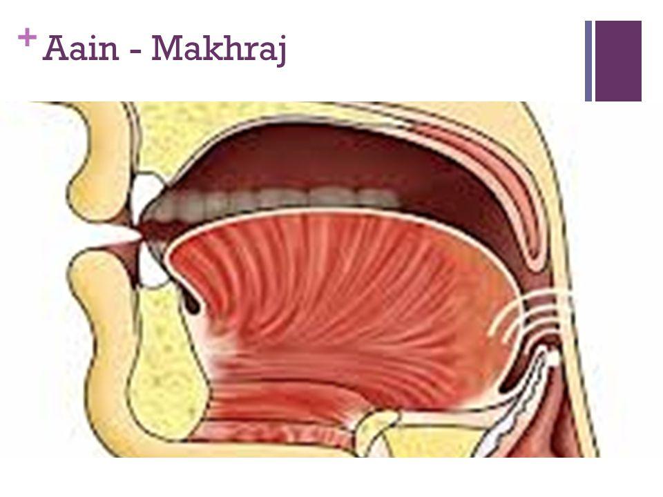 Aain - Makhraj