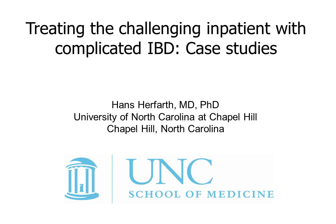 Treating the challenging inpatient with complicated IBD: Case studies