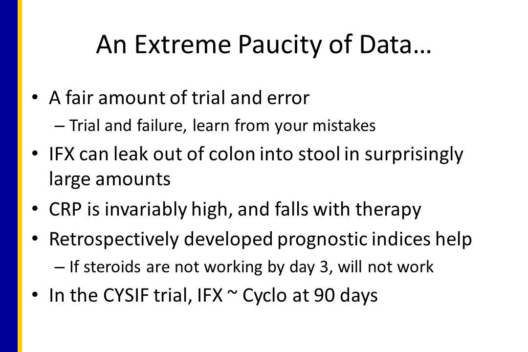 An Extreme Paucity of Data…