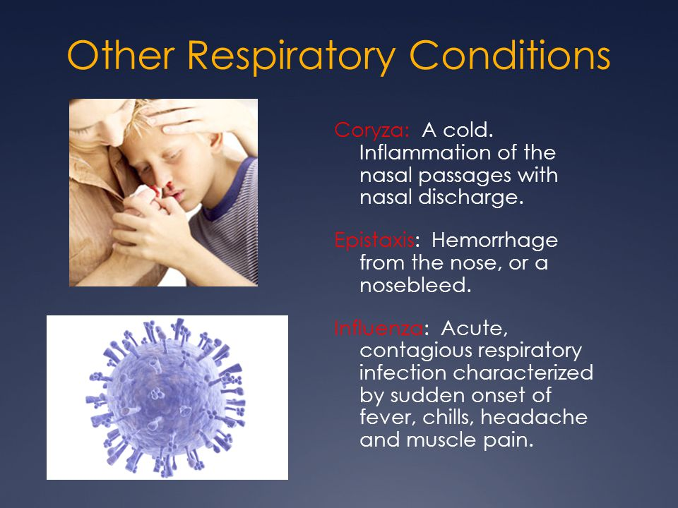 Other Respiratory Conditions