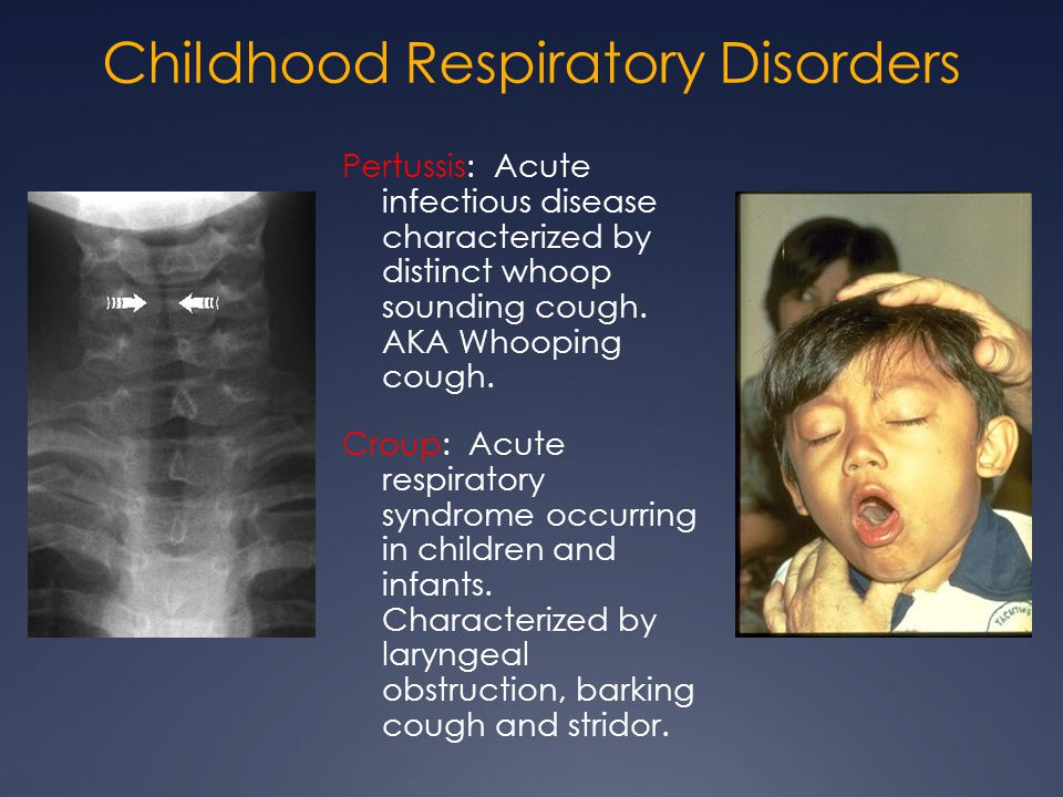 Childhood Respiratory Disorders