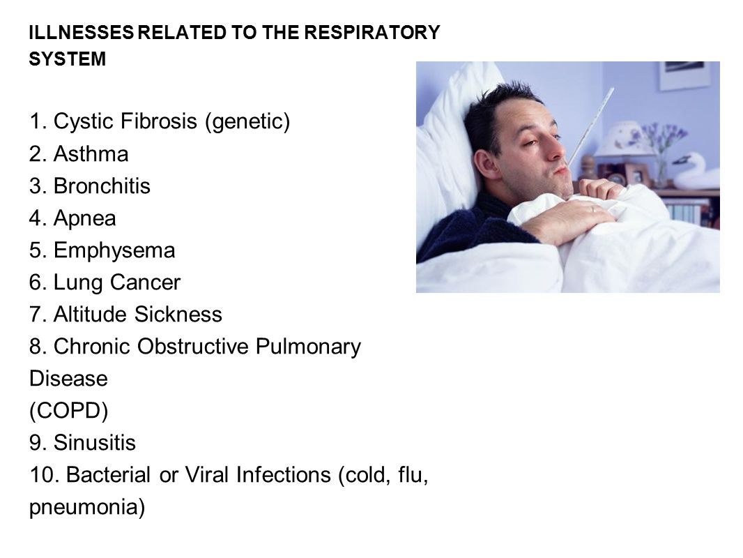 ILLNESSES RELATED TO THE RESPIRATORY SYSTEM