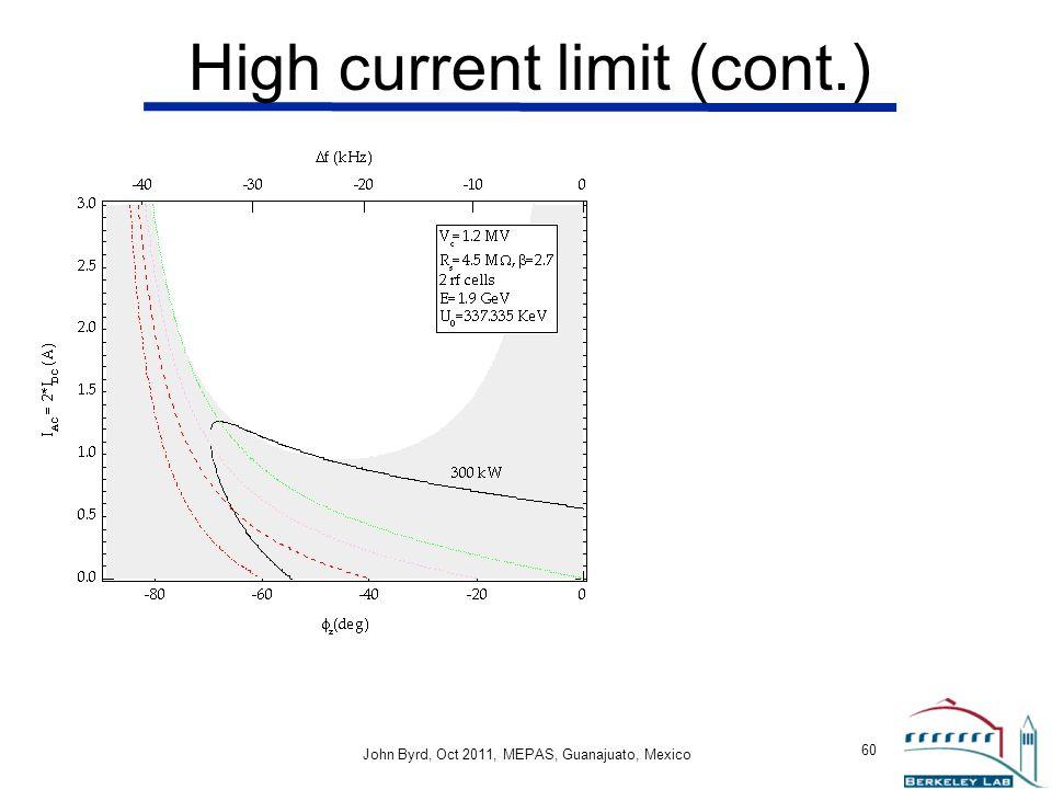 High current limit (cont.)