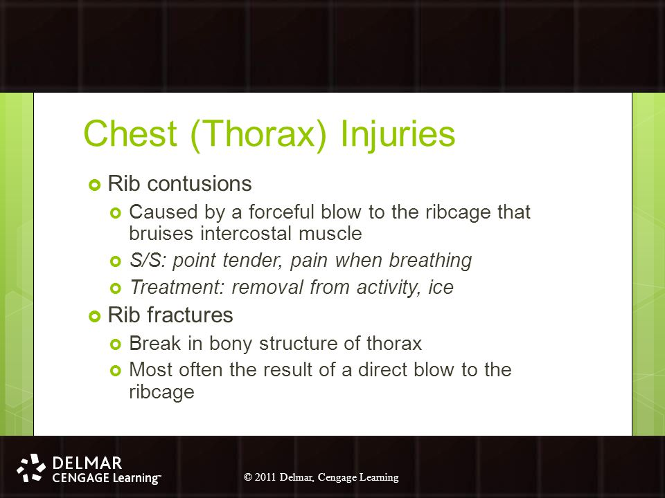 Chest (Thorax) Injuries