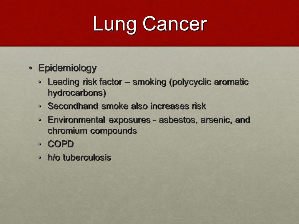 Lung Cancer Epidemiology