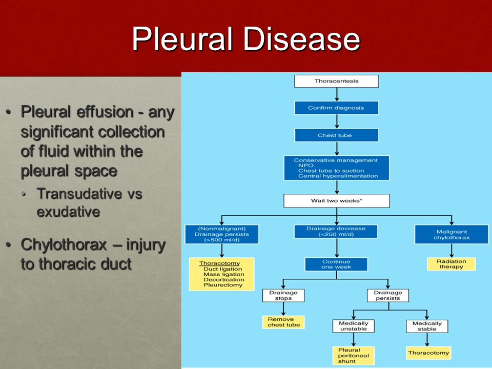 Pleural Disease Pleural effusion - any significant collection of fluid within the pleural space.