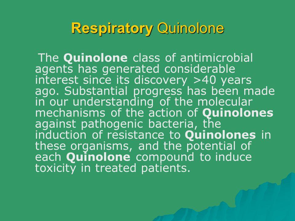 Respiratory Quinolone