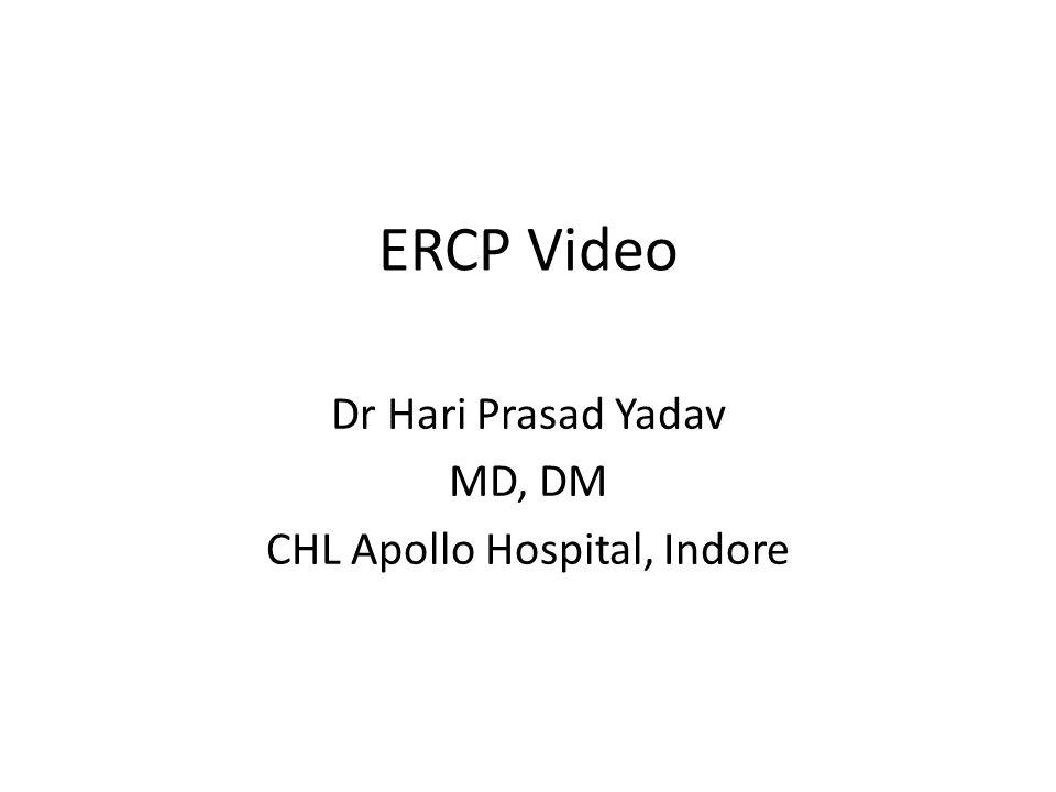 Dr Hari Prasad Yadav MD, DM CHL Apollo Hospital, Indore