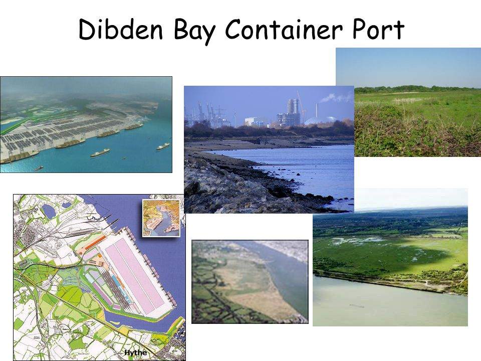 Dibden Bay Container Port
