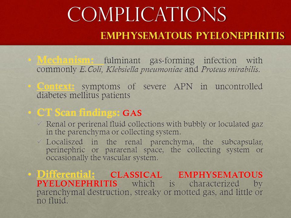 EMPHYSEMATOUS PYELONEPHRITIS