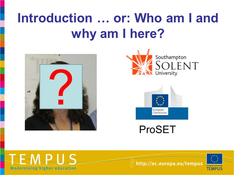 Introduction … or: Who am I and why am I here