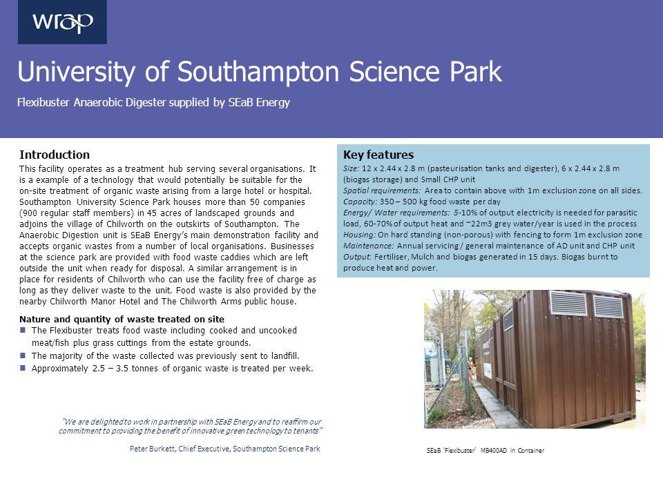 University of Southampton Science Park