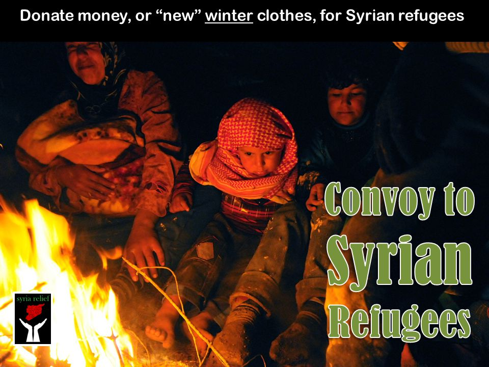 Convoy to Syrian Refugees