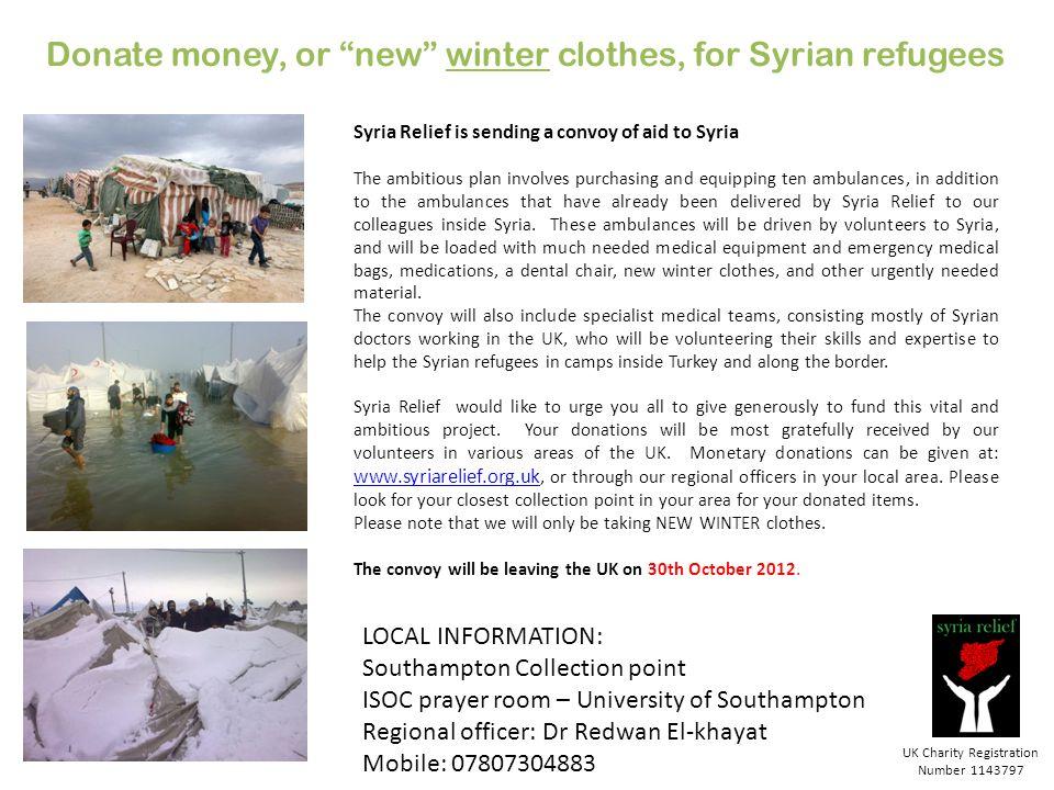 UK Charity Registration Number 1143797