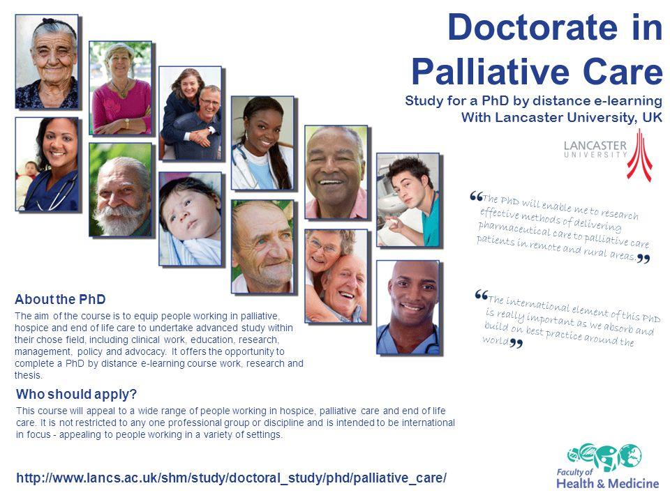 Doctorate in Palliative Care