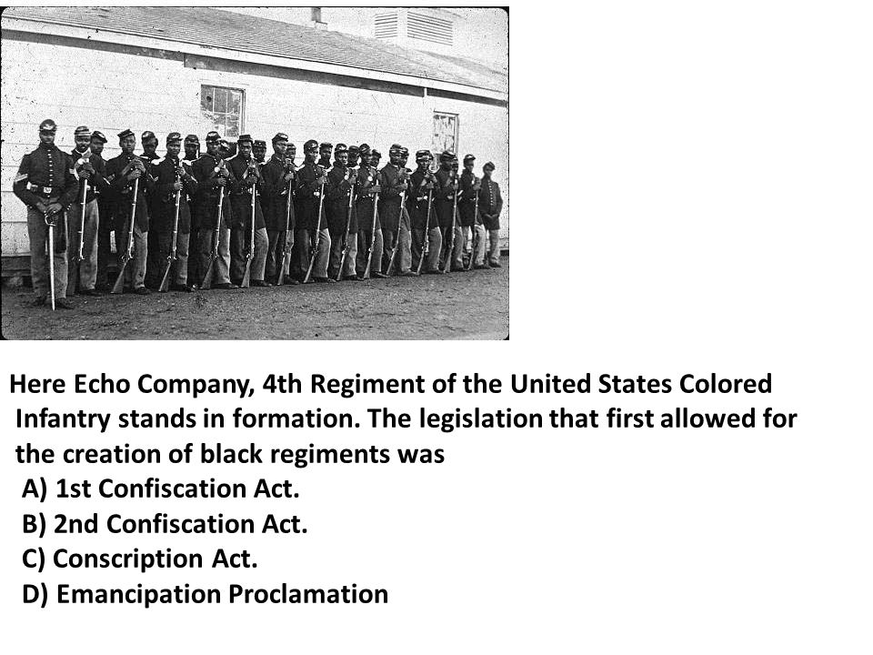 Here Echo Company, 4th Regiment of the United States Colored