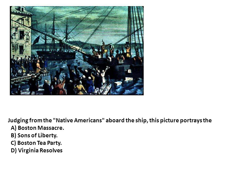 Judging from the Native Americans aboard the ship, this picture portrays the