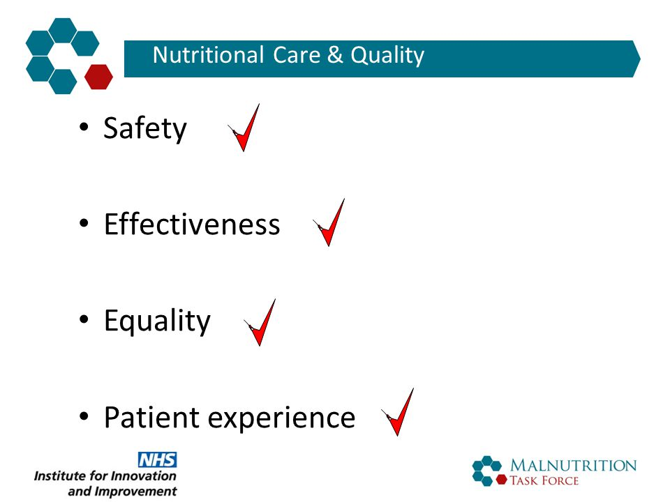 Nutritional Care & Quality