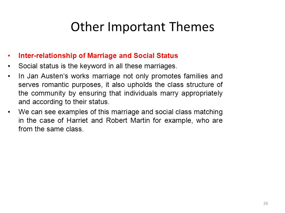 Other Important Themes