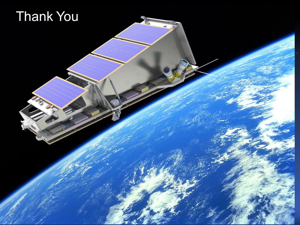Thank You © Surrey Satellite Technology Ltd.