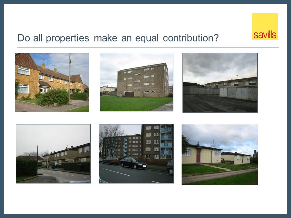 Do all properties make an equal contribution