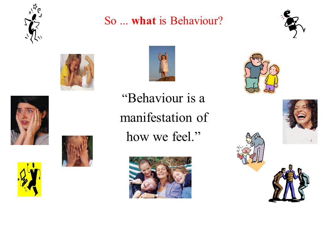 Rationale for looking at Behaviour from an emotional wellbeing perspective