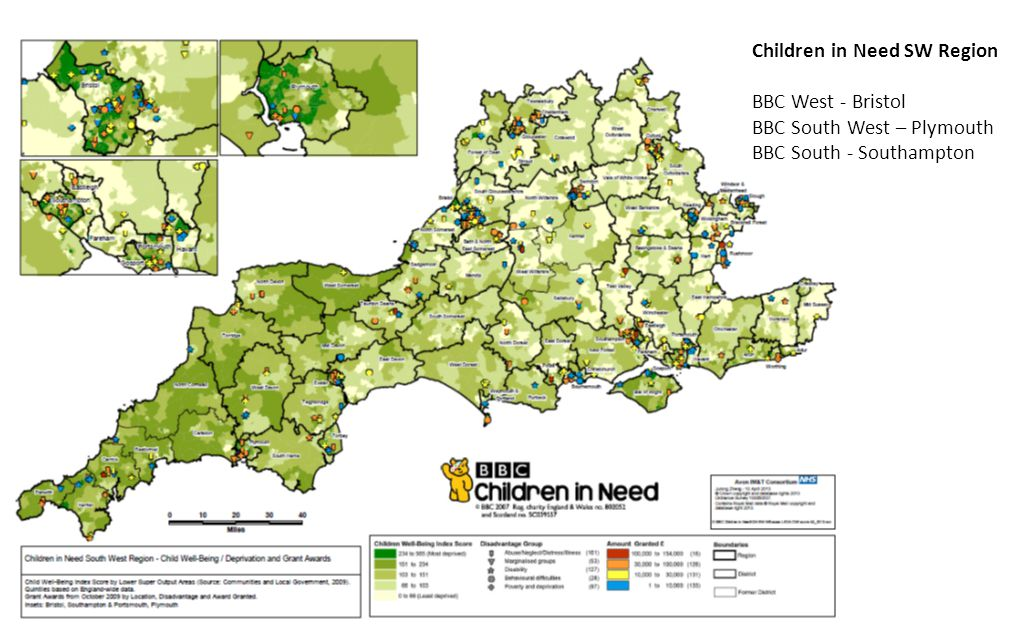 Children in Need SW Region