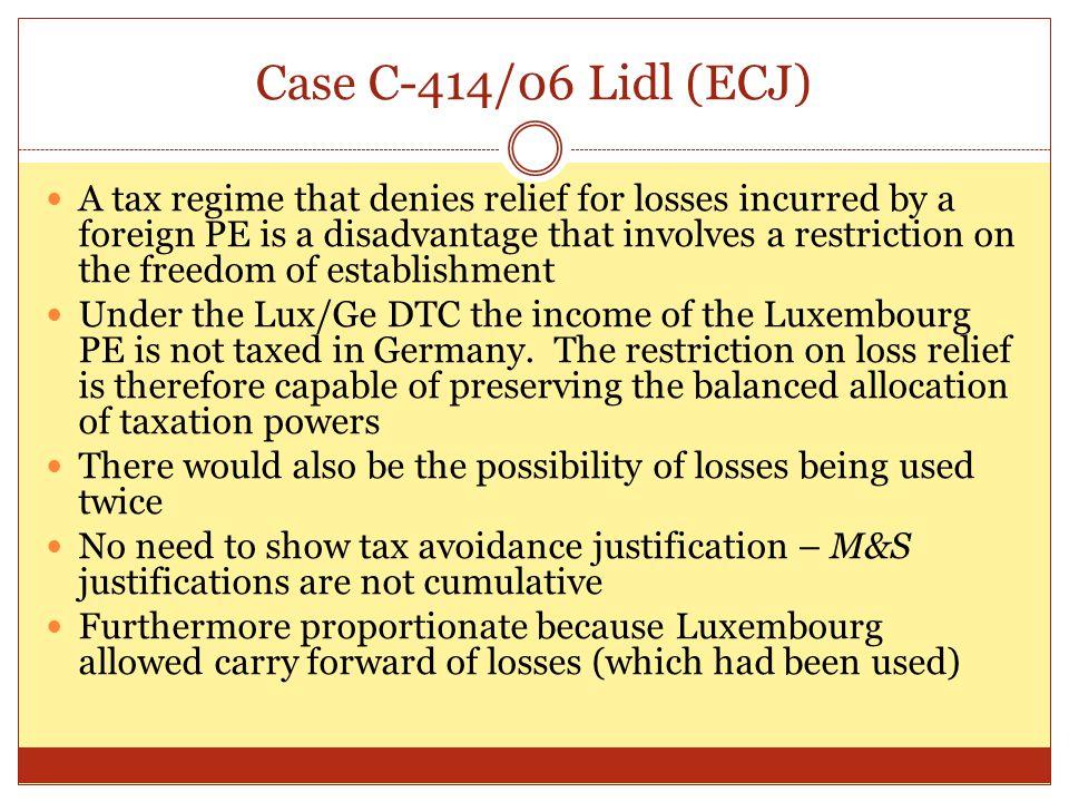 Case C-414/06 Lidl (ECJ)