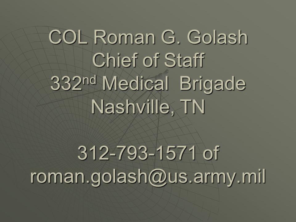 COL Roman G.