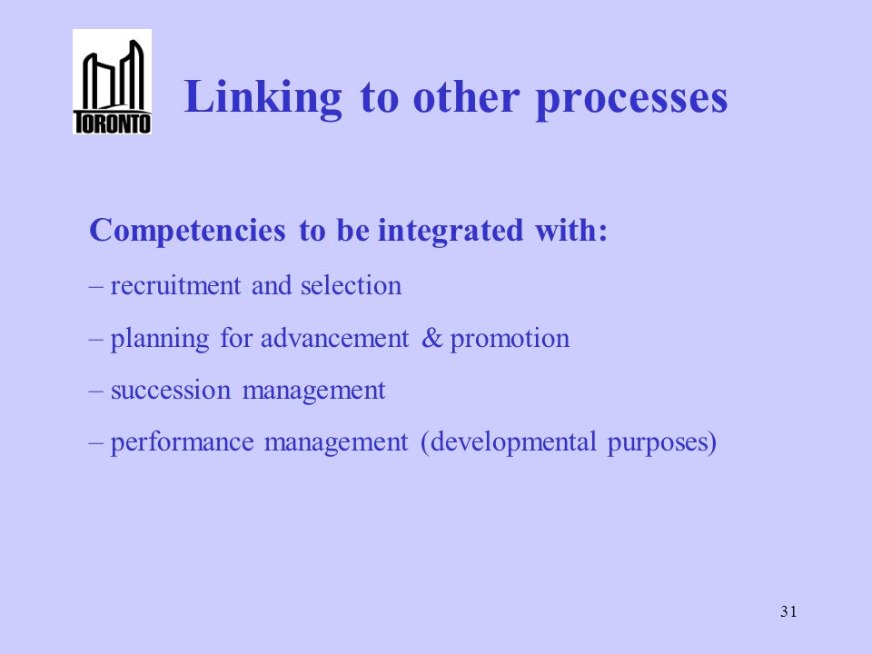 Linking to other processes