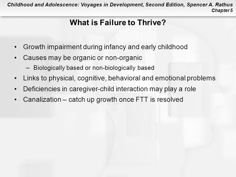 What is Failure to Thrive