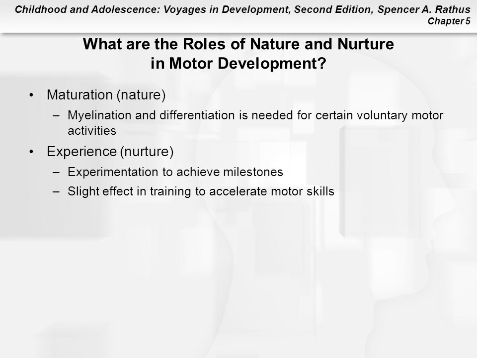What are the Roles of Nature and Nurture in Motor Development
