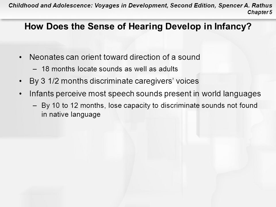 How Does the Sense of Hearing Develop in Infancy