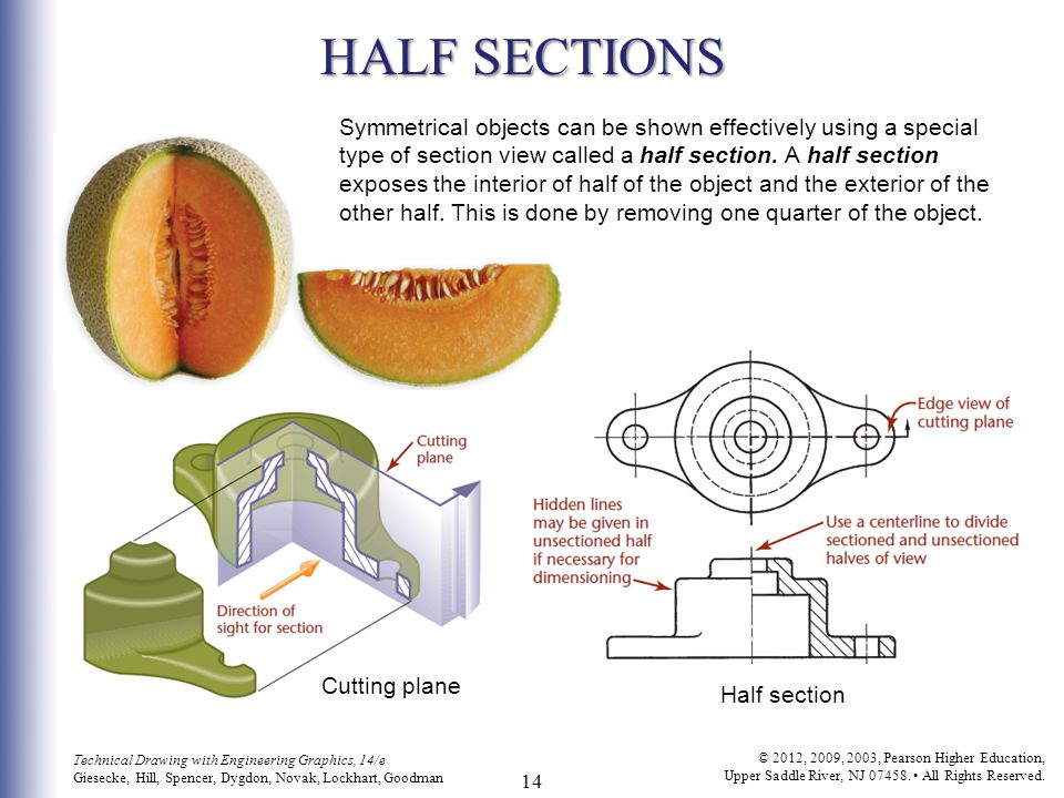 HALF SECTIONS