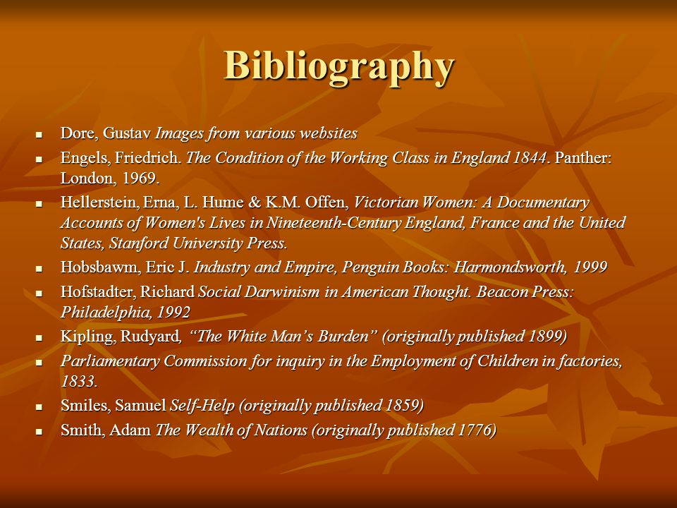 Bibliography Dore, Gustav Images from various websites