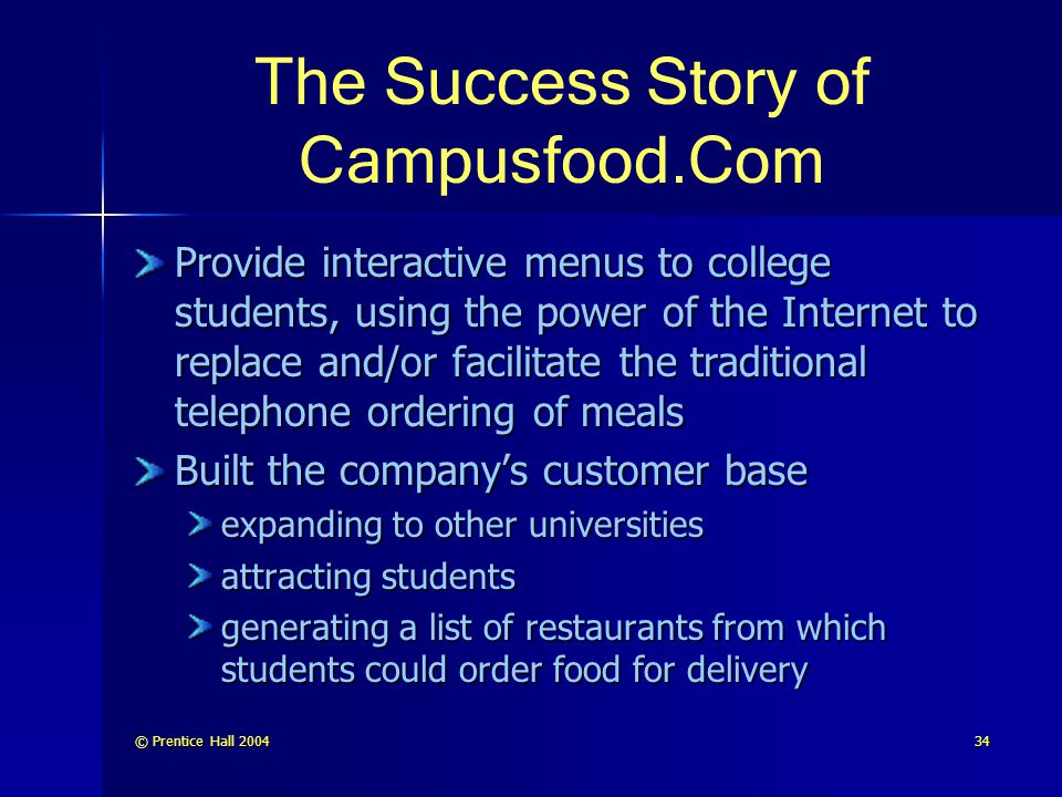 The Success Story of Campusfood.Com