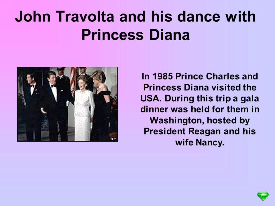 John Travolta and his dance with Princess Diana