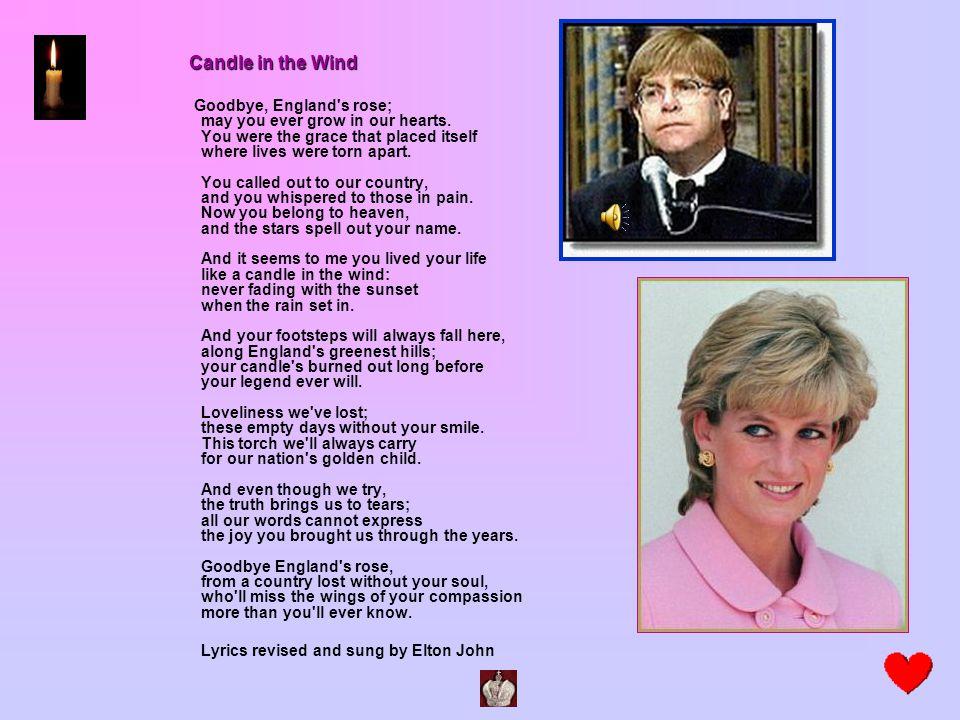 Lyrics revised and sung by Elton John