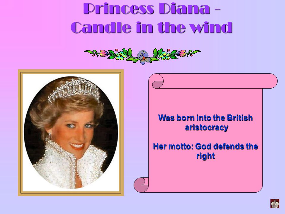 Princess Diana - Candle in the wind
