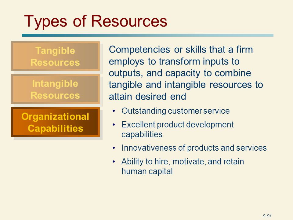 mcdonald s tangible intangible human capabilities Management strategy/analyzing resources and capabilities  human resources  tangible and intangible aspects of linking biodiversity and human well.