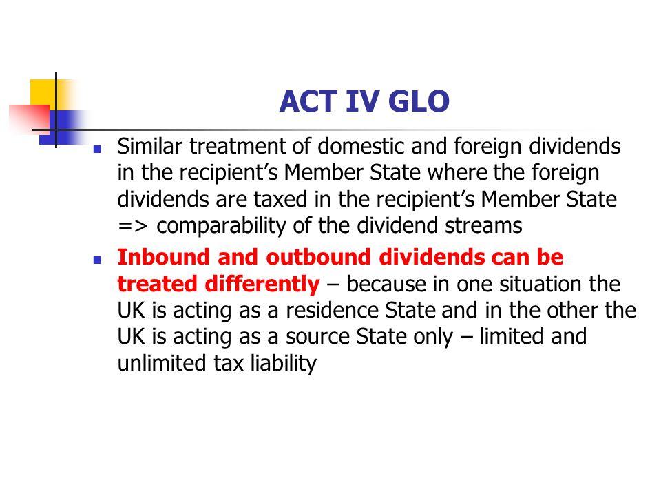 ACT IV GLO