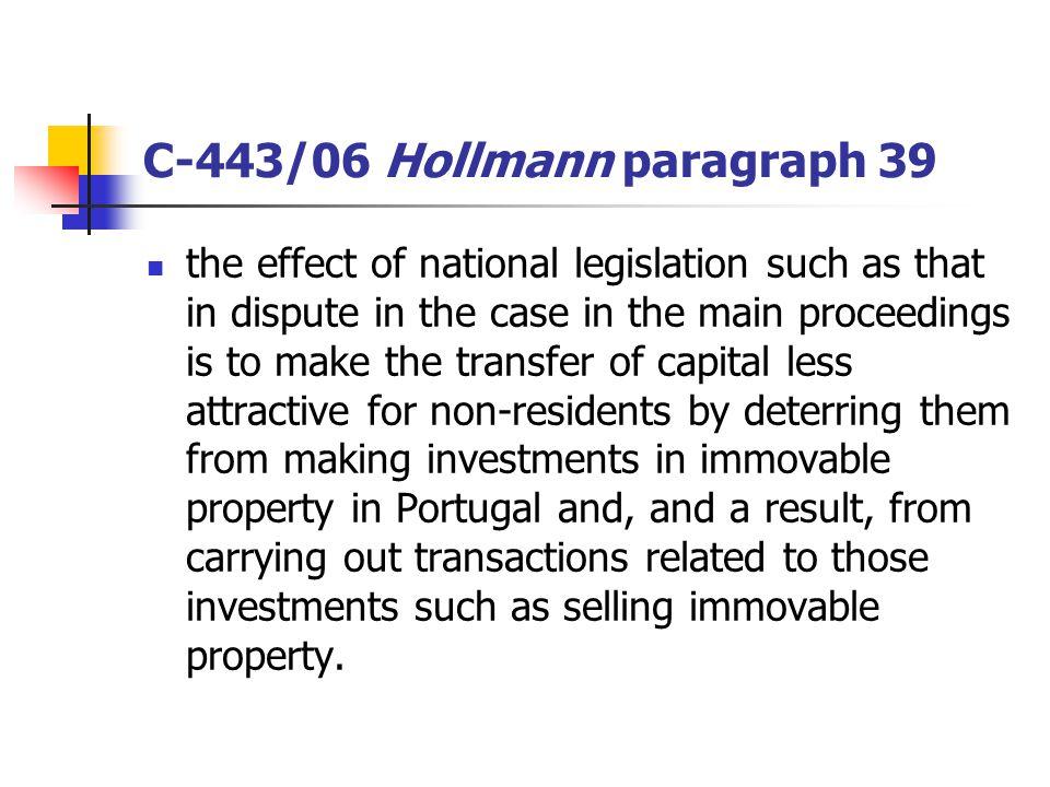 C-443/06 Hollmann paragraph 39