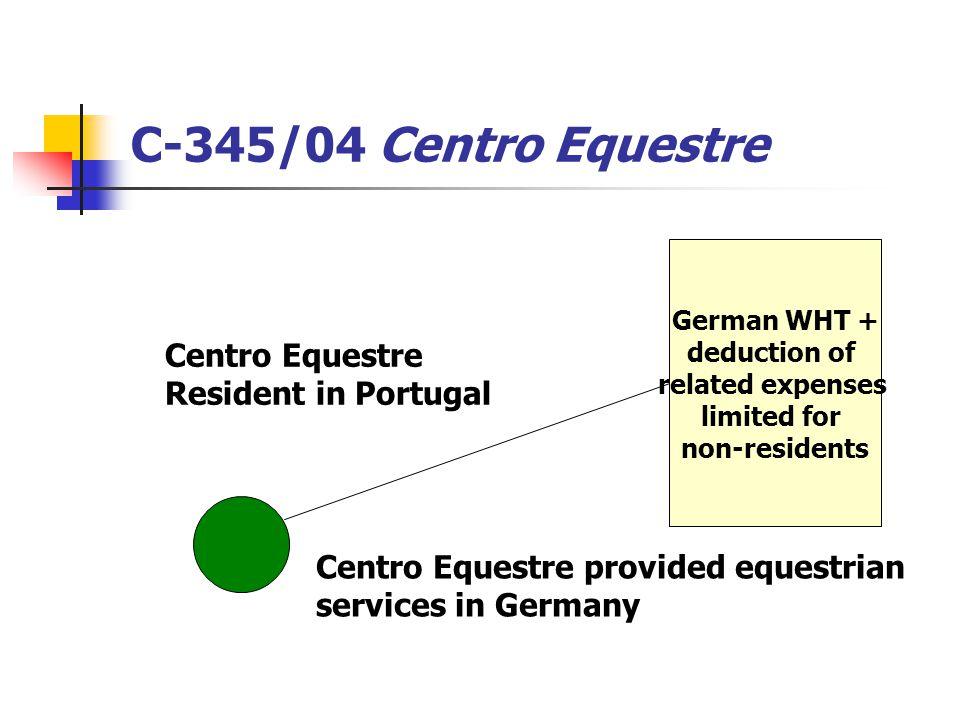C-345/04 Centro Equestre Centro Equestre Resident in Portugal