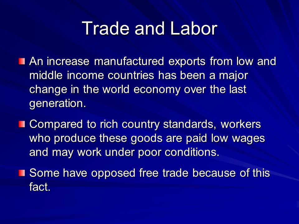 Trade and Labor